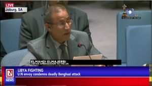 Libyan Ambassador to UN Condemns Attacks on Benghazi