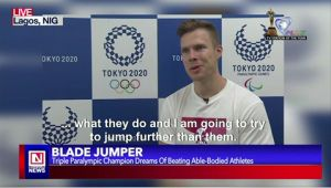 "Paralympic Champion ""Blade Jumper"" Aims at Beating World Bests at Tokyo 2020"
