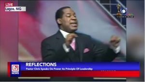 Pastor Chris Speaks on Principles of Leadership