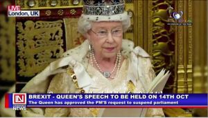 Queen Approves British PM's Request to Suspend Parliament