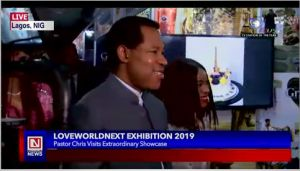 LoveWorld President, Rev. (Dr.) Chris Oyakhilome Visits LoveWorld Next Exhibition 2019