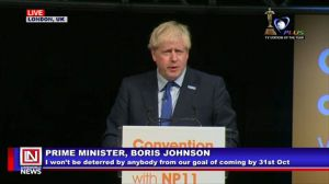 Boris Johnson Optimistic on Reaching an Agreement for Smooth Brexit