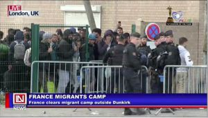 Court Declares Dismantling of Migrants Camp in Dunkirk, France
