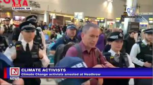 Environmental Activists Arrested in UK Over Disruption of Travels at Heathrow Airport