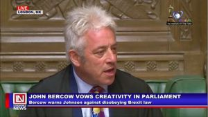 Commons Speaker John Bercow Warns Against No Deal Brexit