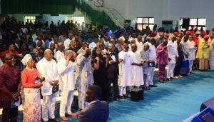 Delta State Government of Nigeria Celebrates God's Kindness with Thanksgiving