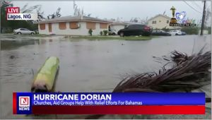Churches Provide Relief Aid to Victims of Hurricane Dorian