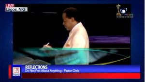 Pastor Chris Admonishes Believers to be Anxious for Nothing