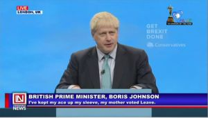 Prime Minister Boris Johnson Reveals His Mother Voted for Brexit