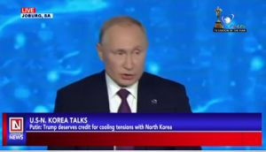 Putin Applauds Trump for Successfully Cooling Tensions with North Korea