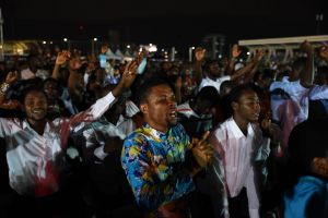 Colorful Opening Ceremony Kicks Off 'One Night of Blessings' in Accra