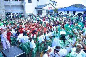 Grand Celebration of Nigeria at 59 with Colorful ReachOut Campaign in Warri