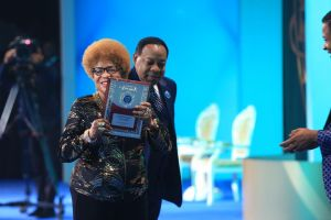 Pastor Chris' Mother Honored with Special Commendation at Presidential Awards