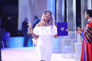 Helen King Recognized as Presenter of the Year at  LoveWorld Staff Awards