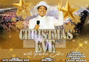 Ring in the Christmas Spirit with Pastor Chris on December 24th