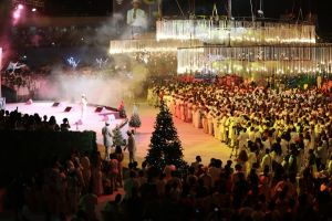 Christmas Eve Service with Pastor Chris Spreads Christ's Love Across the Globe