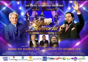 Your LoveWorld with Pastors Chris & Benny Hinn Brings New Seasons of Grace