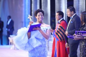 Yvonne Katsande Wins 'News Presenter of the Year' for Third Consecutive Year