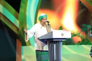 Africa's First Female President Graces Future Africa Leaders Award Ceremony