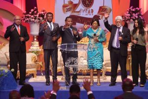 Global Rhapathon with Pastor Chris Takes Airwaves by Storm of Glory
