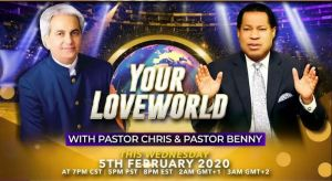 Pastors Chris and Benny Host 'Your LoveWorld' Live Broadcast from Houston, Texas