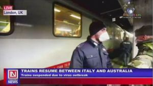 Covid-19: Trains Resume Operation Between  Australia and Italy