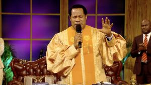 Pastor Chris & Congregation Take Authority Against Coronavirus in Jesus' Name
