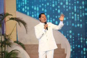 Pastor Chris Ministers Special Blessings to Thousands Gathered in Lagos, Nigeria