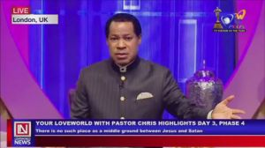 Pastor Chris Emphasizes the Need to Stand Firm in Christ on 'Your LoveWorld' Broadcast