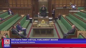Covid-19 Lockdown: UK Parliament Holds First Virtual Meeting