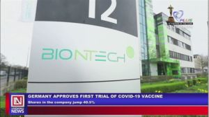 Covid-19: Vaccine Trial Process Approved in Germany