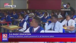 COVID-19: Schools in South Africa Expected to Resume Soon