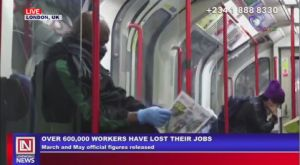 COVID-19: Job Losses on the Rise in the United Kingdom
