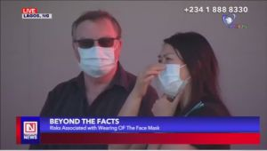 COVID-19:  Capturing the Dangers of Wearing Face Masks