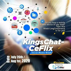 Maiden KingsChat-CeFlix Social Media Week Set to Equip God's Army for Exploits