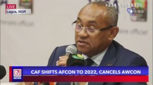 CAF Postpones AFCON to 2022