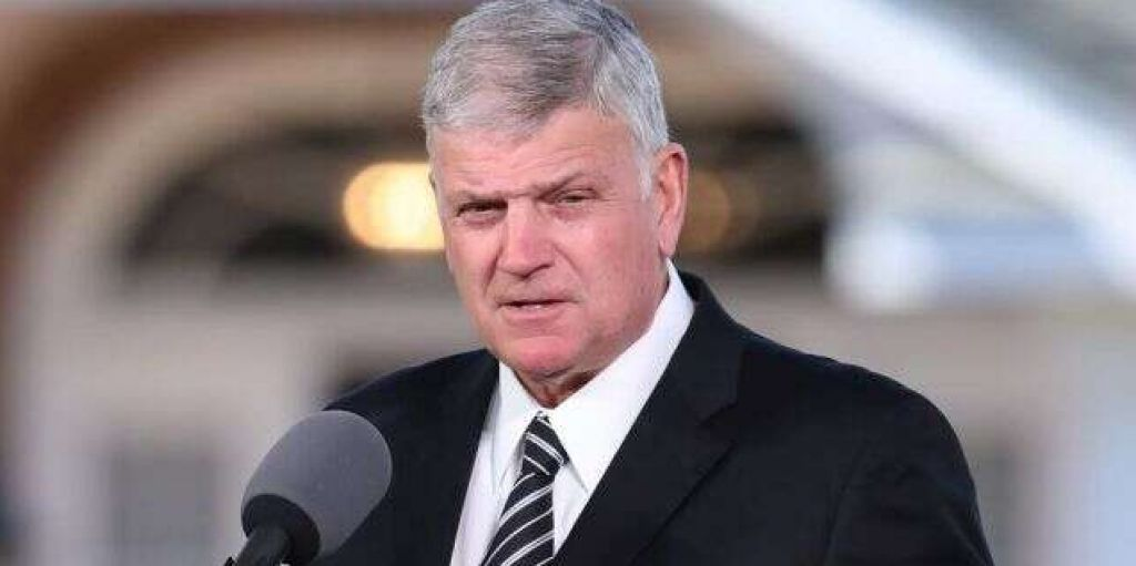Franklin Graham Leads Massive Prayer March in Washington DC