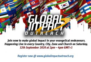 Massive Celebration of Souls Anticipated at Premiere 'Global Impact Outreach'