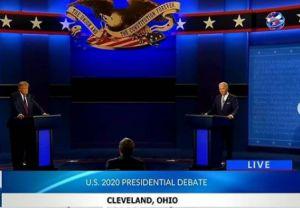 President Trump and Joe Biden Go Head to Head in First Presidential Debate