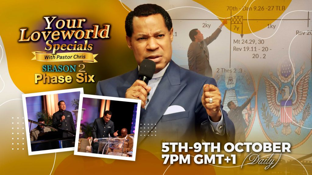 Millions to Join Pastor Chris on 'Your LoveWorld Specials' (Season 2, Phase 6)