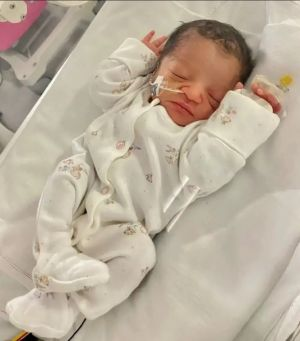 Pastor Chris Welcomes Newborn Grand-Daughter, Arielle Rachelle-Marise