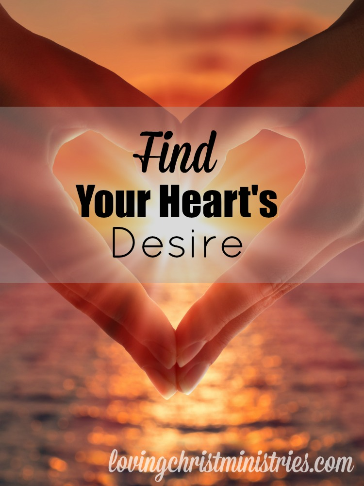 What do you do when you're searching and searching for what you want in life? Find your heart's desire and live fully and joyfully.