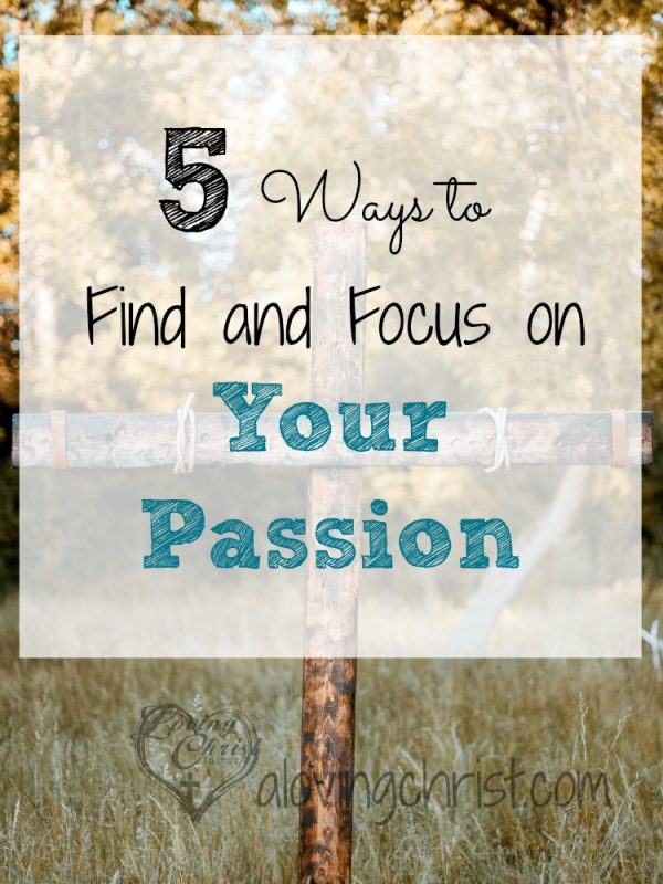 Find and focus on your passion and what truly brings you joy and learn to incorporate it in your life today!