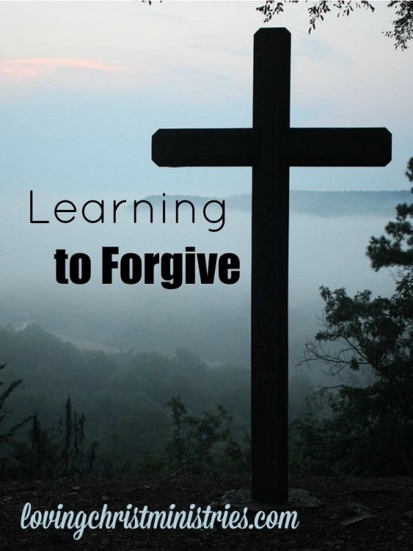 Learning to forgive everyone fills our hearts and allows the space for God's love, peace, and understanding to overflow.