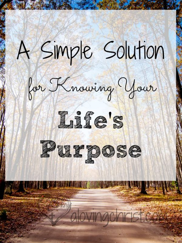 Wondering your true life's purpose? Let me share with you a simple solution for knowing exactly how you're called to live your life.