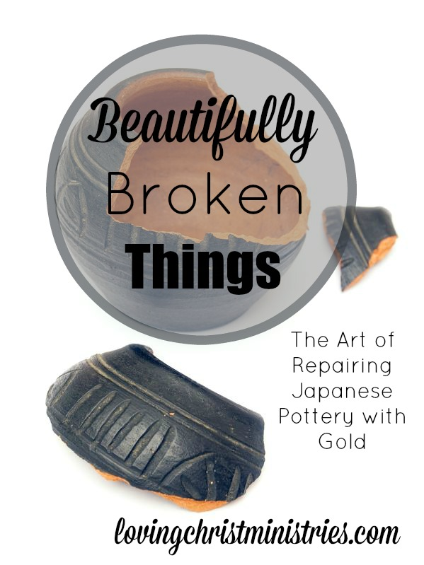 Kintsugi helps us learn that even through brokenness beauty can be created. The same is true for us and what God can do to make us beautiful for His glory.