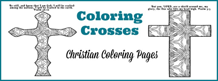 Coloring Crosses Christian Coloring Pages for Adults | Loving Christ