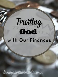 Trusting God with finances certainly doesn't come easily. But when you make the commitment and put Him first, blessings abound.