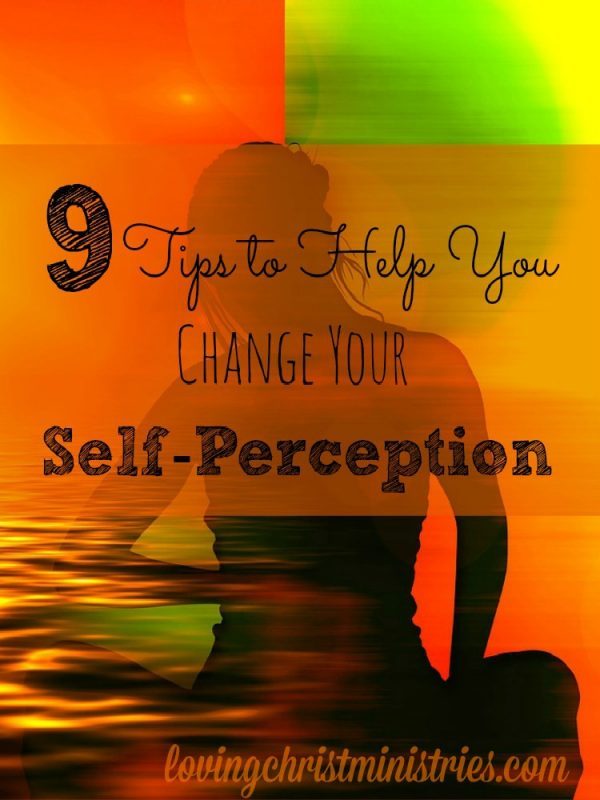 If you struggle with self-worth, it's time to change your self-perception. Knowing God comes from within. Learn these 9 tips to shift your self-perception.