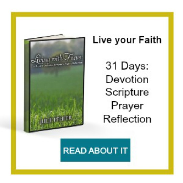 Living with Focus: 31 Days of Devotion, Scripture, Prayer, Reflection | Loving Christ Ministries